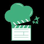 Logo Cook&Record agence food digitale - producteur réalisateur vidéo cuisine