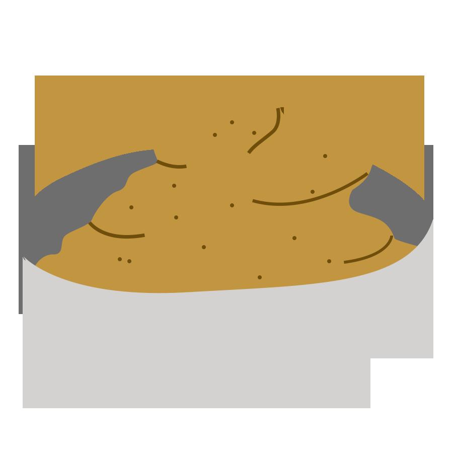 Les crèmes - la crème au beurre au café de Cook and Record