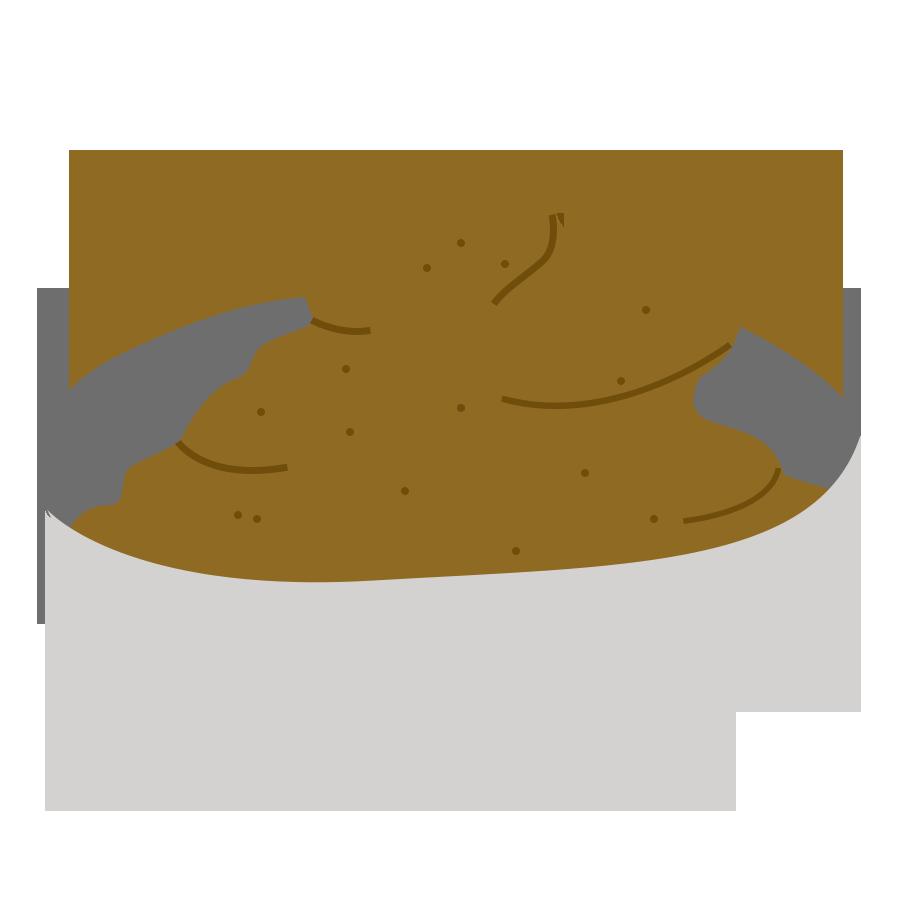 Les crèmes - la crème au beurre praliné de Cook and Record